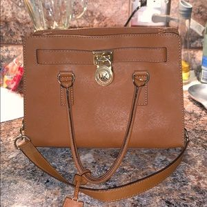 Brown Michael Korda Hamilton bag